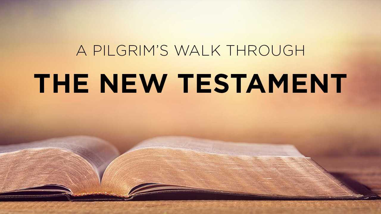 A pilgrim's walk through the New Testament - Luke's gospel