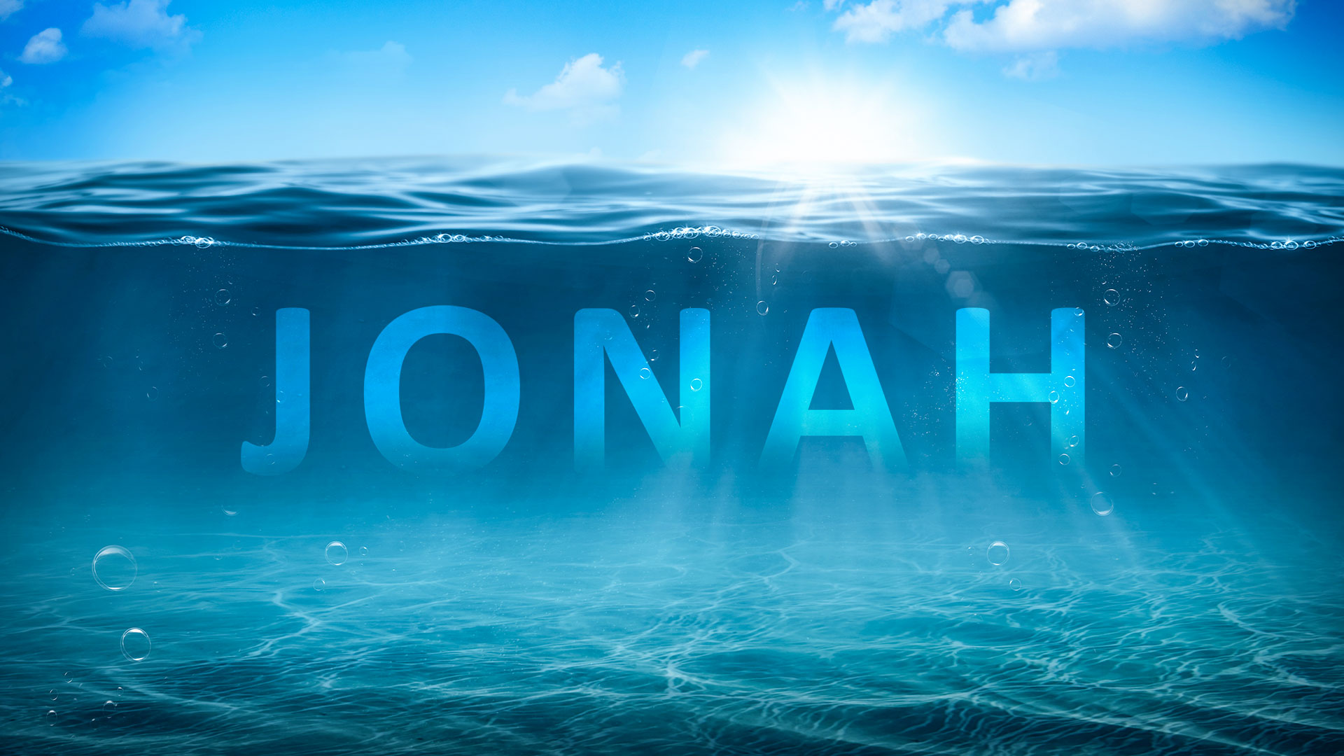 Jonah – scarpering, sleeping and sinking