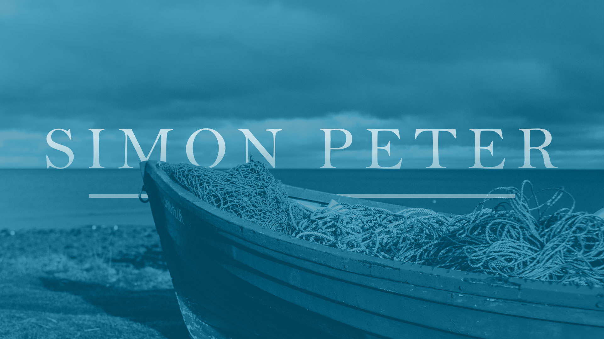 (Pt 7) Peter and that sinking feeling